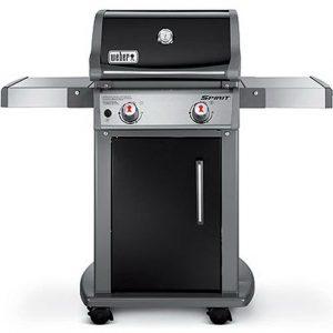 Weber Spirit E210 Gas Grill, Best Gas Grill, Stainless Steel fold down shelves