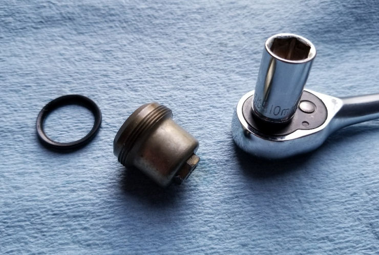 Generator will not start Troubleshooting, Honda Generator sediment cup removal with o-ring